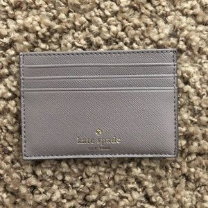 NWT Kate Spade Graham Glitter Card Case